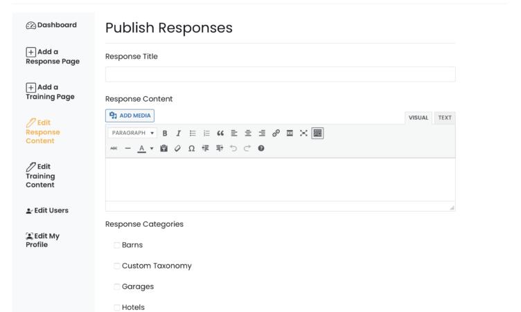 Edit Responses