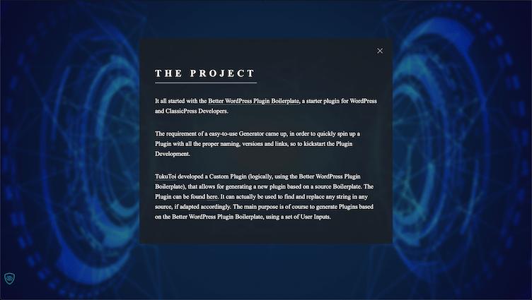 Generate Plugin Project