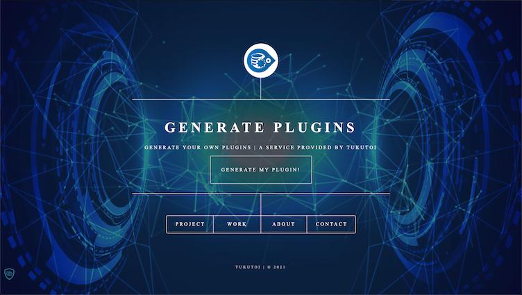 Generate Plugin Website