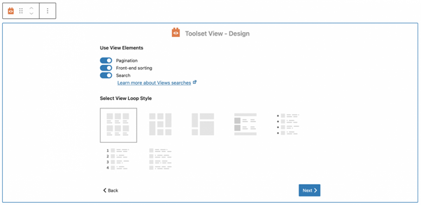 Use View Element